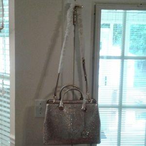 Champagne Michael Kors handbag